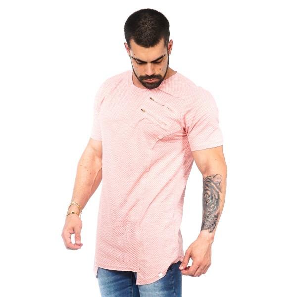 Camisa Long LS POA Rosa