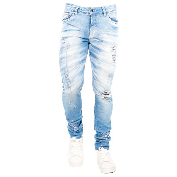 Calça Jeans Slim Fit Blue Angel C58733