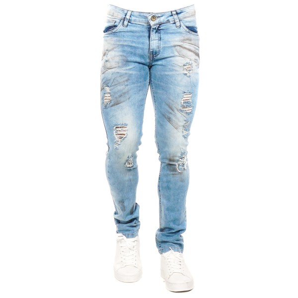 Calça Jeans Slim Fit Trash C58828