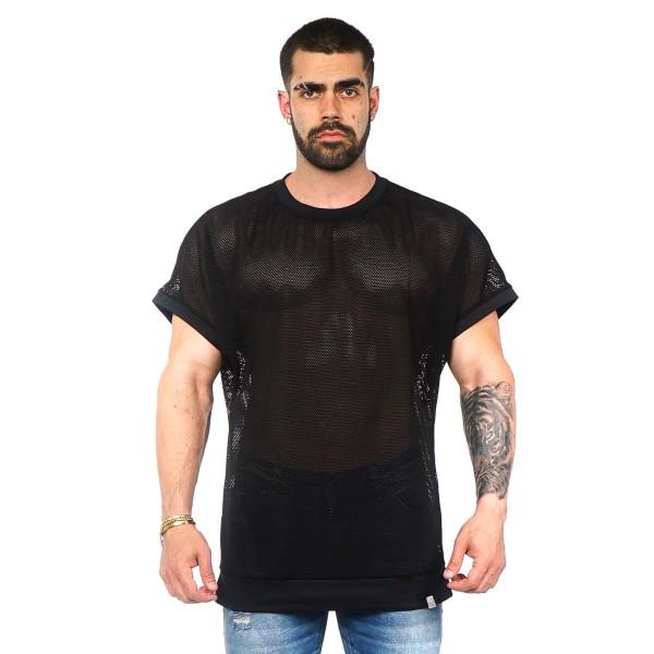 Camisa Long LS Screen Black
