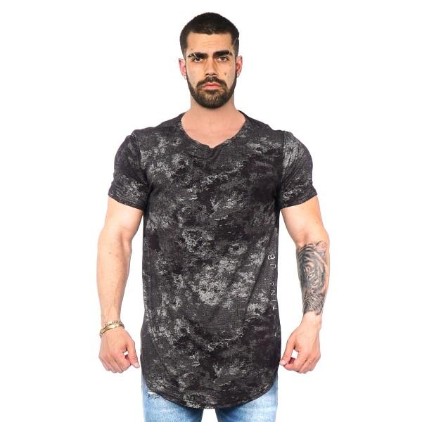 Camisa Long LS Black Lights