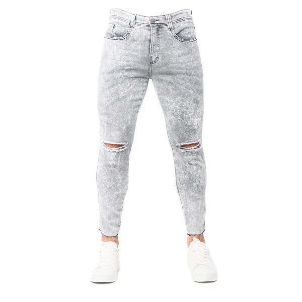 Calça Jeans Slim Fit TJ Smoke