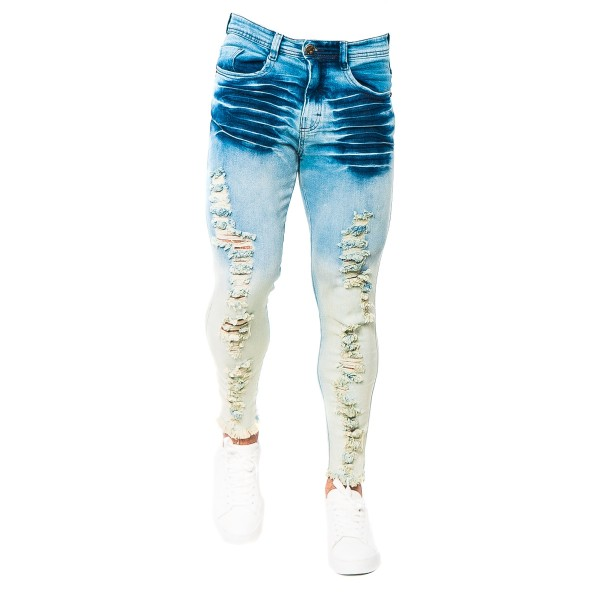 Calça Jeans Slim Fit TJ Blue Design