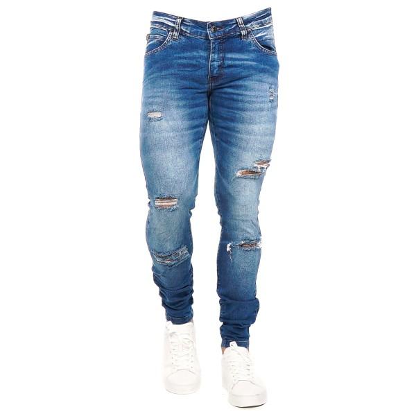 Calça Jeans Slim Fit Blue Cut 14294