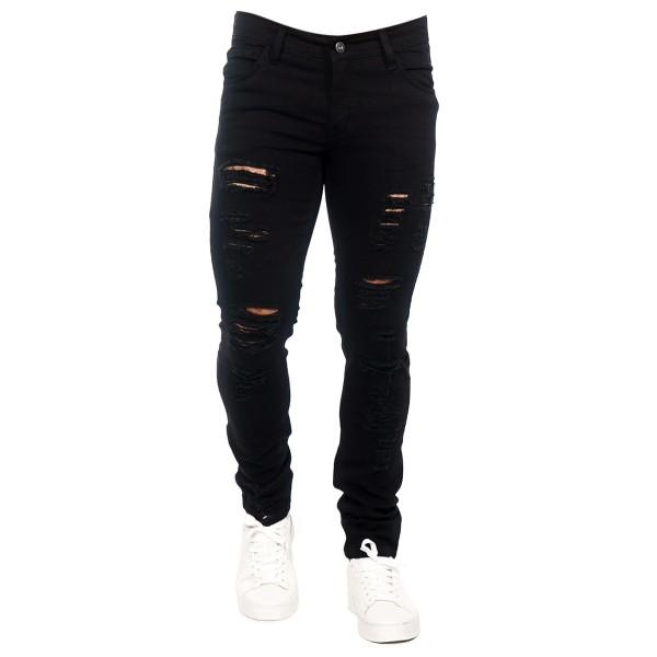 Calça Jeans Slim Fit Black Cut 15227