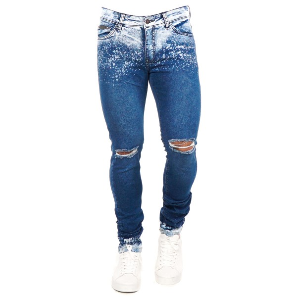 Calça Jeans Slim Fit Destoned Blue 14713