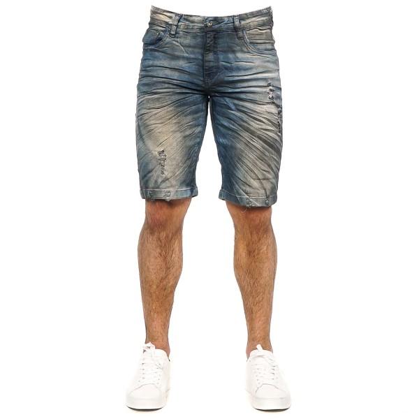 Bermuda Jeans Slim Smoke B58902