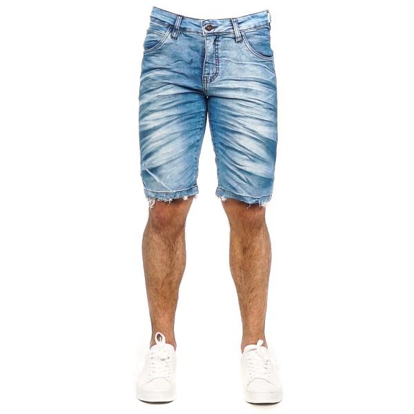 Bermuda Jeans Slim Blue 14164