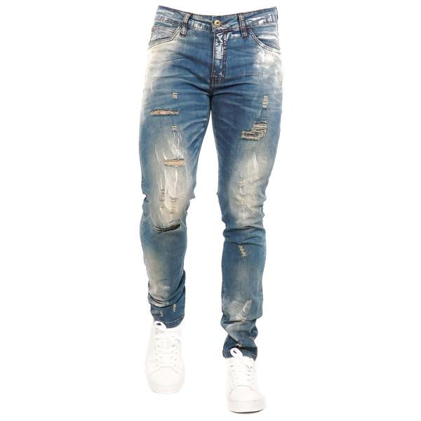 Calça Jeans Slim Fit Brown 14390