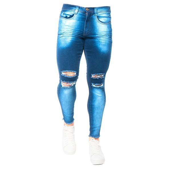 Calça Jeans Slim Fit TJ Blue Vision