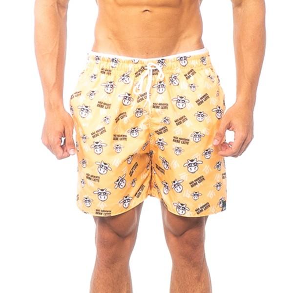 Beach Shorts Não Aguenta Bebe Leite