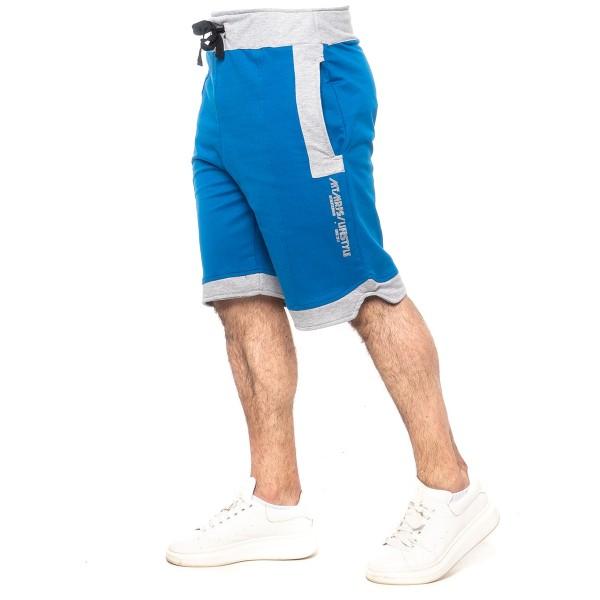 Bermuda Moletom Concept Lifestyle Azul