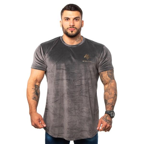 Camisa Long Plush Billion Grey