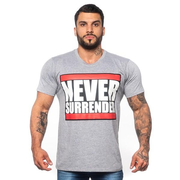 Camiseta T-Shirt Never Surrender Mescla