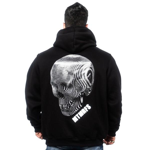 Casaco Ziper SKULL 3D Black