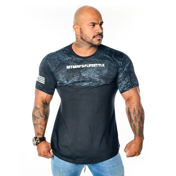 Camisa Long Concept Performance/Lifestyle Preta
