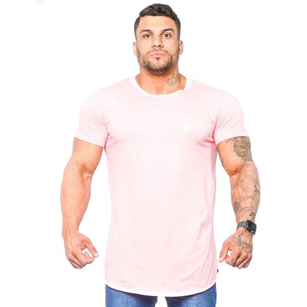 Camisa Long Minimal Rose