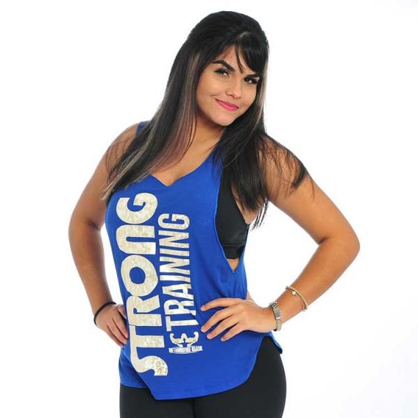 Regata Machão Super Cavada Feminina Strong