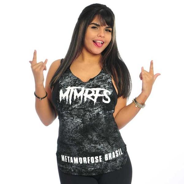 Regata Machão Super Cavada Feminina MTMRFS Smoke