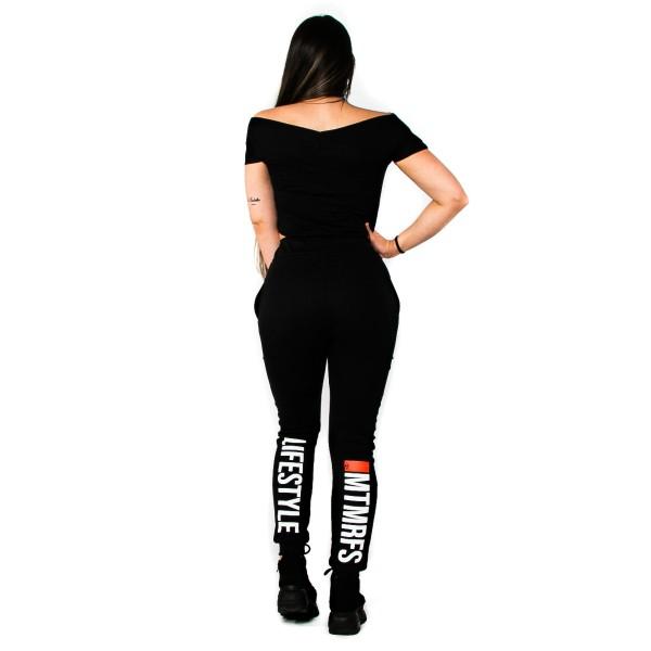 Calça Jogger Feminina Lifestyle Black