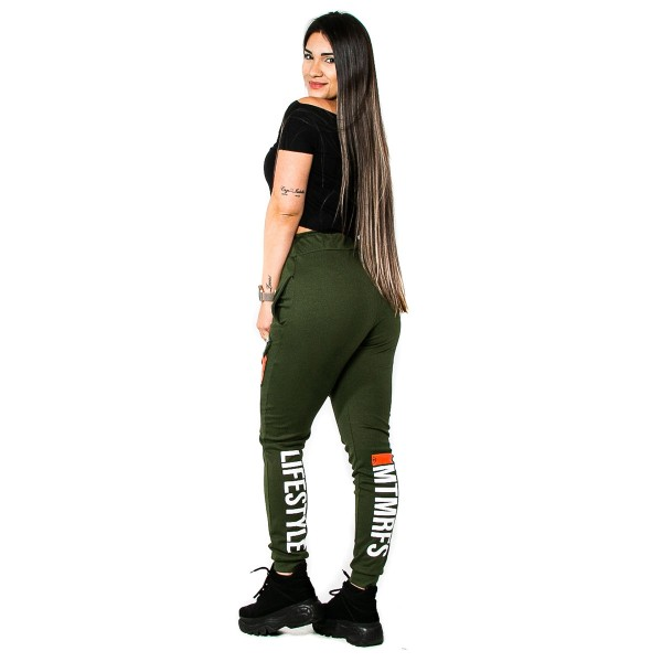 Calça Jogger Feminina Lifestyle Military