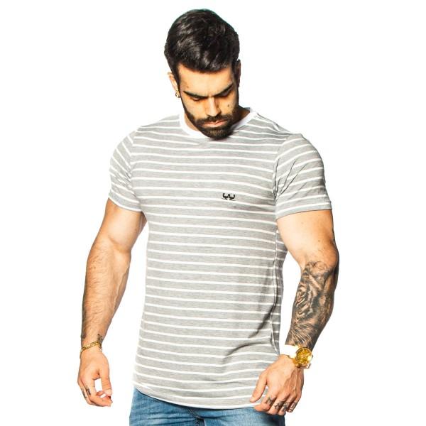 Camisa SlinFit Essential Mescla Claro