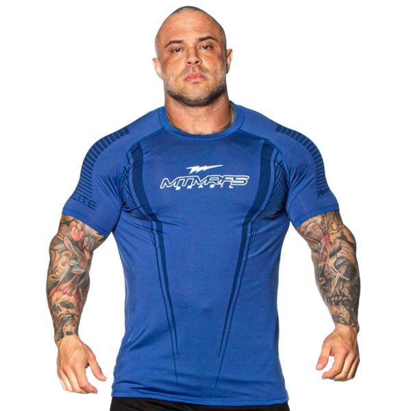 Camisa Performance Dry Compress BOLT Azul