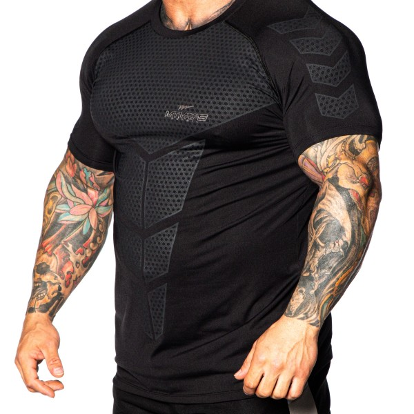 Camisa Performance Dry Compress DEFENCE Preta