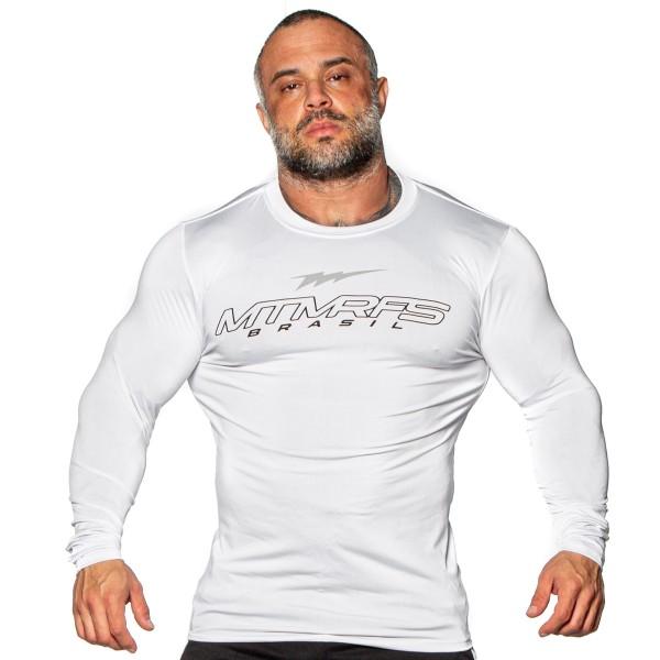 Camisa Manga Compressor ACTIVE Branca
