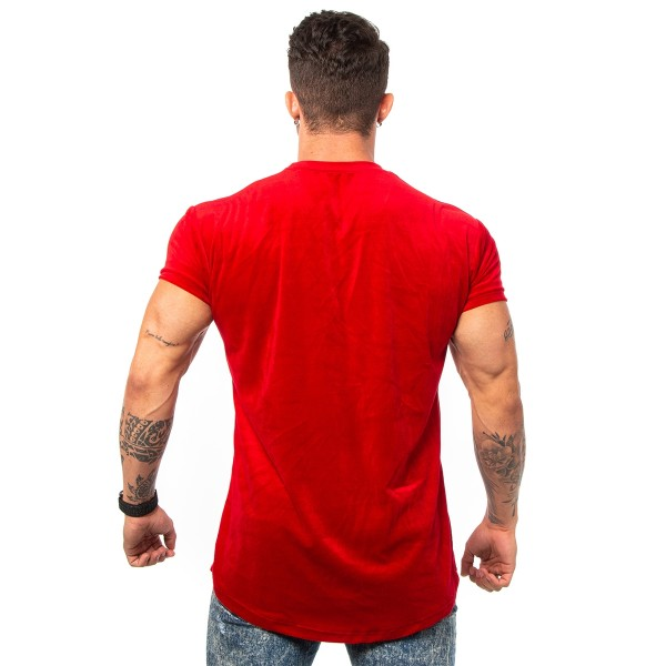 Camisa Long Plush Billion Red