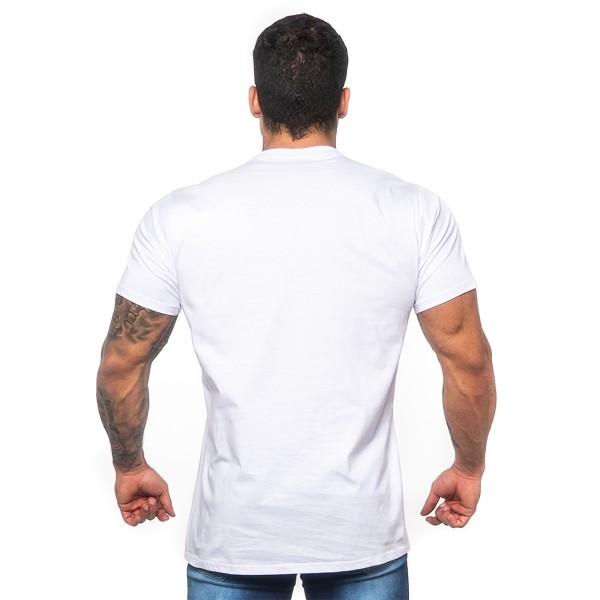 Camiseta T-Shirt Arnold Branca
