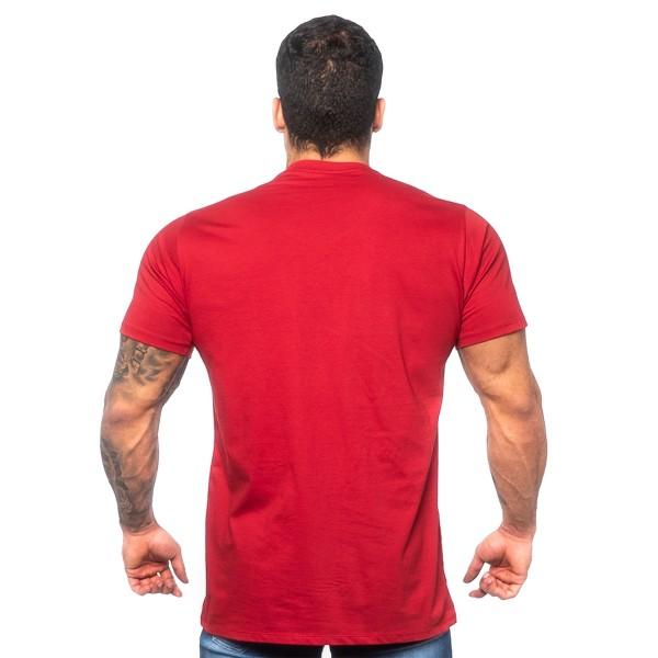 Camiseta T-Shirt Arnold Vermelha