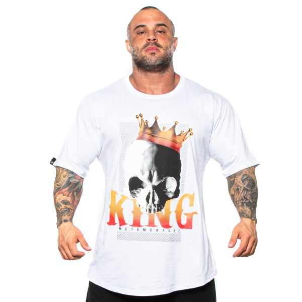 Camisa Monster Size King Branca
