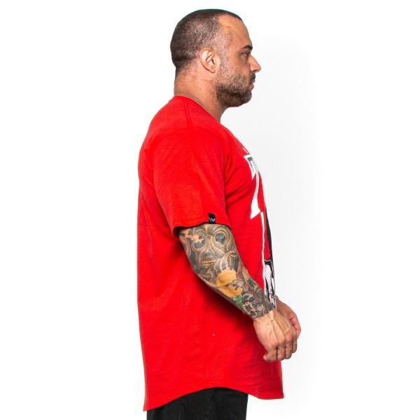 Camisa Monster Size TUPAC Vermelha