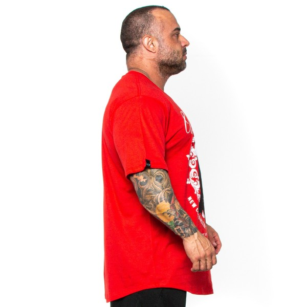 Camisa Monster Size Urban Style Vermelha