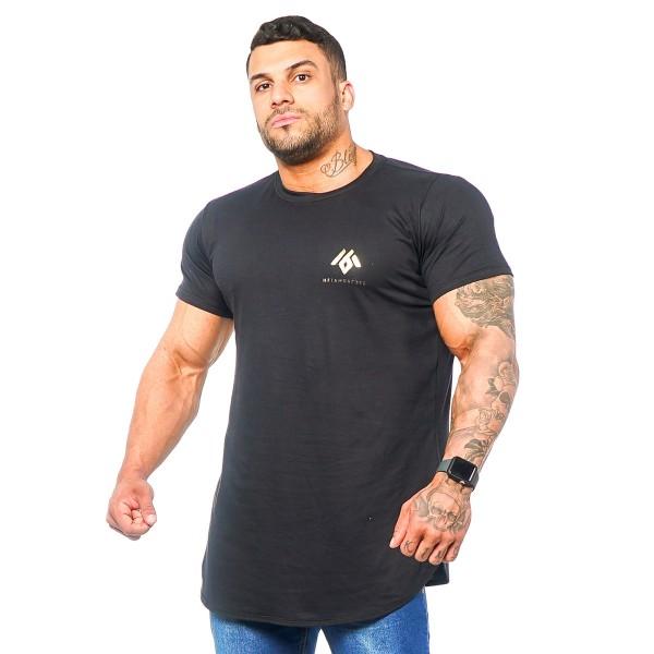 Camisa Long Minimal Black