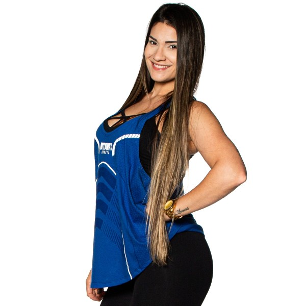 Regata Feminina Anatomic Defender Azul