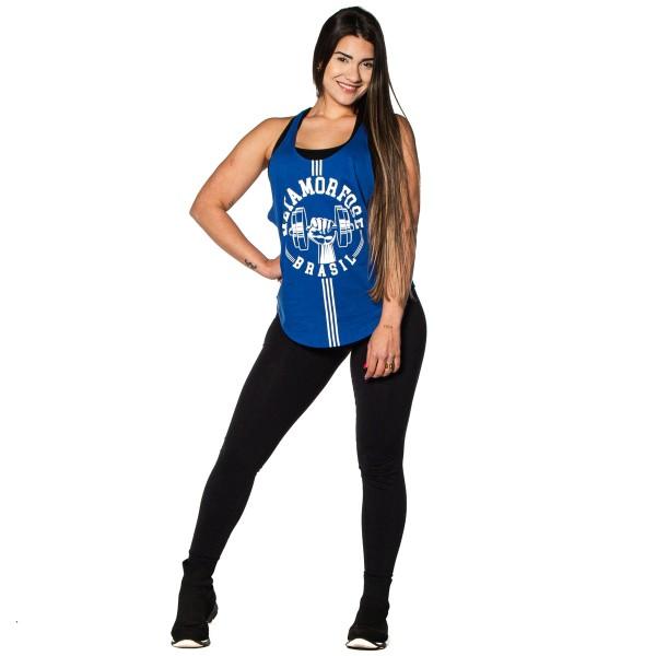 Regata Feminina Anatomic Lifter Azul Royal
