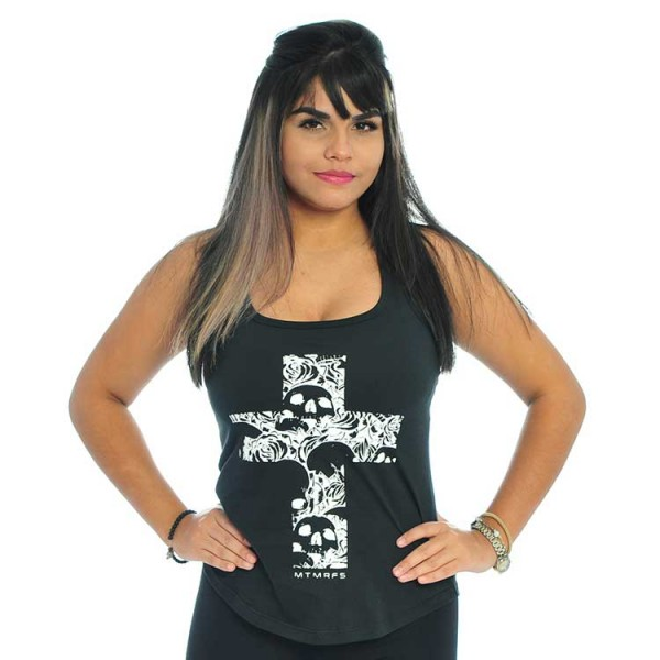 Regata Feminina Skull Cross