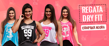 Regatas Femininas Dry Fit