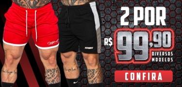 2 shorts por R$ 99,90