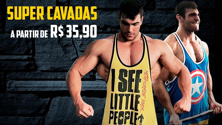 Regatas Super Cavadas Metamorfose Brasil